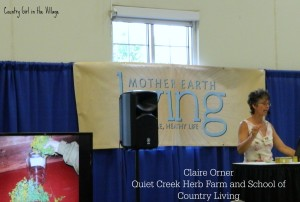 Herbs and Oils with Quiet Creek Herb Farm at the Mother Earth News Fair