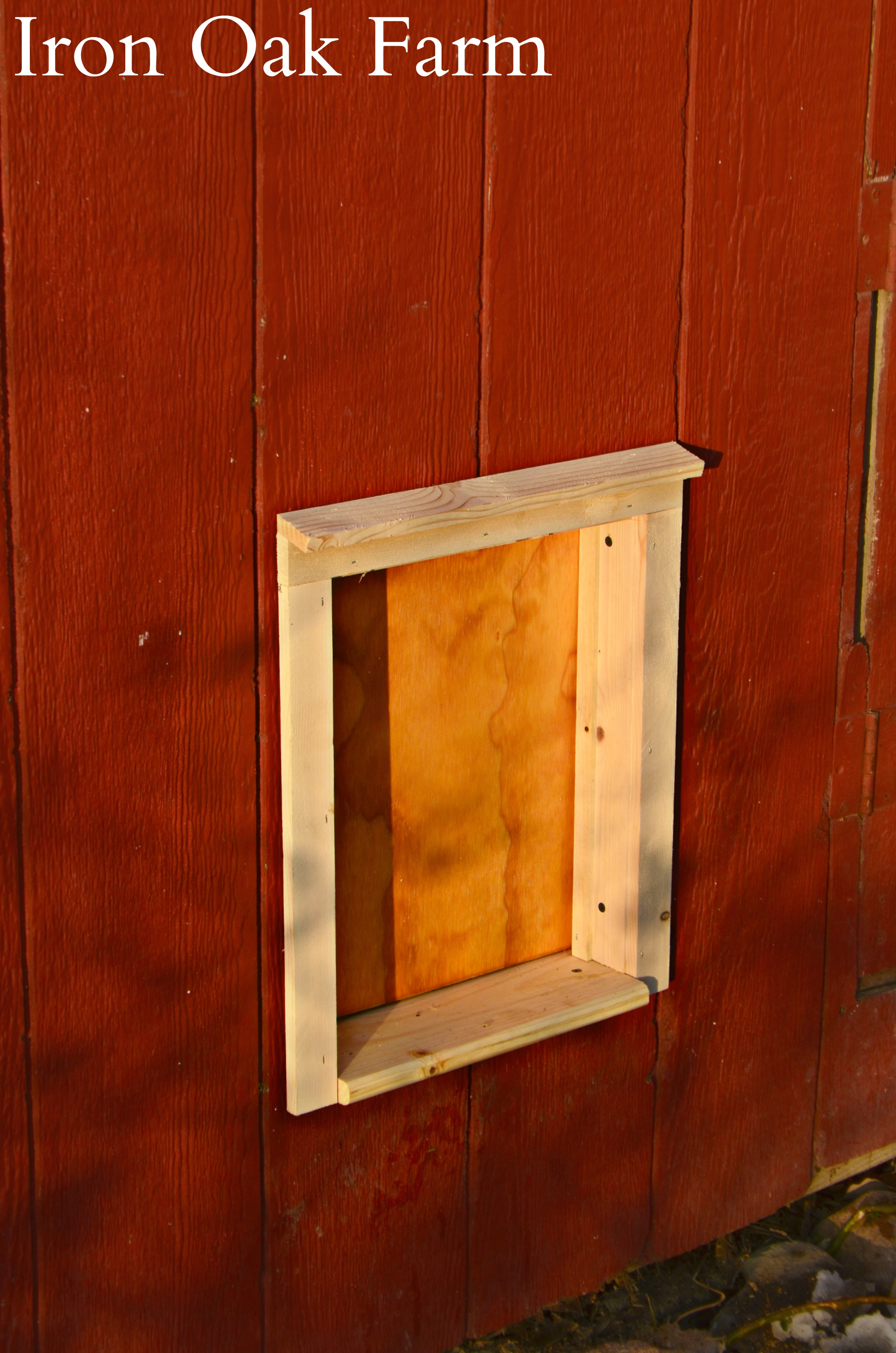 Automatic Chicken Coop Door Installation and Product Review | Community Chickens & Automatic Chicken Coop Door Installation and Product Review ...